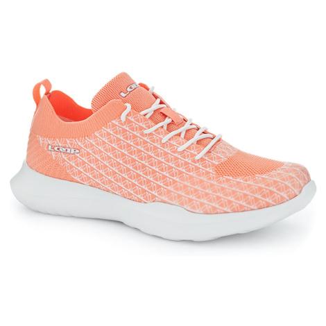 AISA women's walking shoes orange LOAP