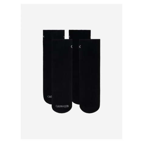 Ponožky 2 páry Calvin Klein Černá