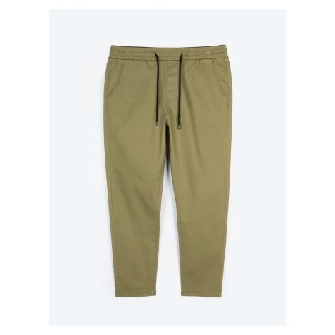 GATE Jednobarevné strečové kalhoty