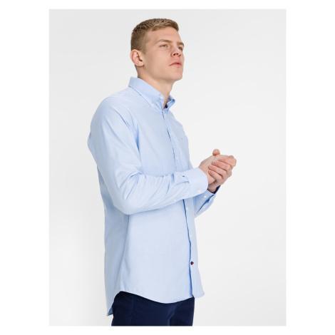 Oxford Košile Tommy Hilfiger Modrá