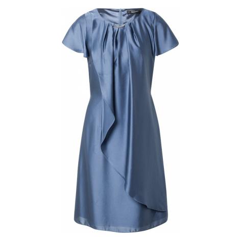 SWING Koktejlové šaty chladná modrá