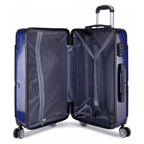 Modrý cestovní kvalitní prostorný střední kufr Zion Lulu Bags