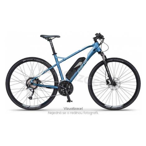 """Elektrokolo krosové Apache Matto Tour E4 metal blue, 17"""" Apache Bicycles"""