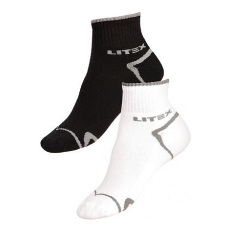 Sportovní ponožky polovysoké Litex 9A009 | bílá