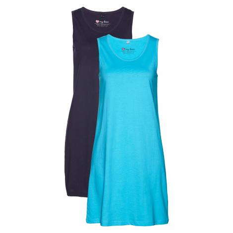 Žerzejové šaty (2 ks v balení) Bonprix