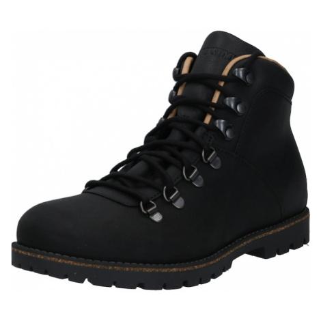 BIRKENSTOCK Šněrovací boty 'Jackson' černá