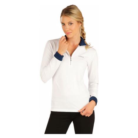 Dámské tričko s dlouhým rukávem Litex 7A440 | bílá