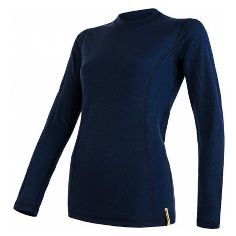 Dámské tričko SENSOR Merino DF dl.rukáv deep blu