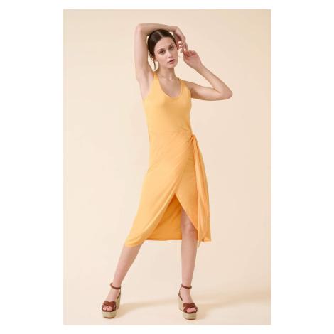 Přiléhavé žerzejové šaty Orsay