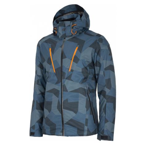 Pánská lyžařská bunda H4Z20-KUMN007-90A MULTICOLOUR ALLOVER 4F