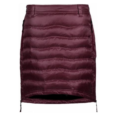 Sukně SKHOOP Short Down Skirt ruby red