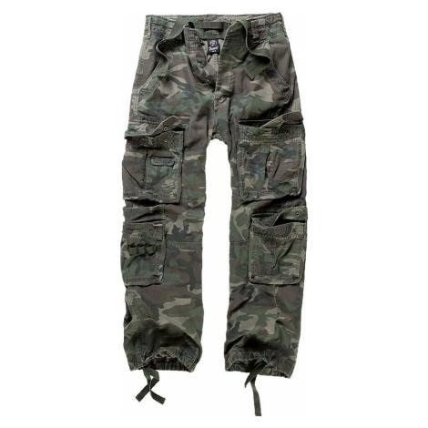 Brandit Pure Vintage Trousers Kalhoty lesní maskáčová