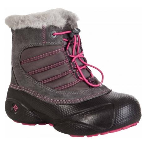 Columbia YOUTH ROPE TOW KIDS růžová - Dětská zimní obuv