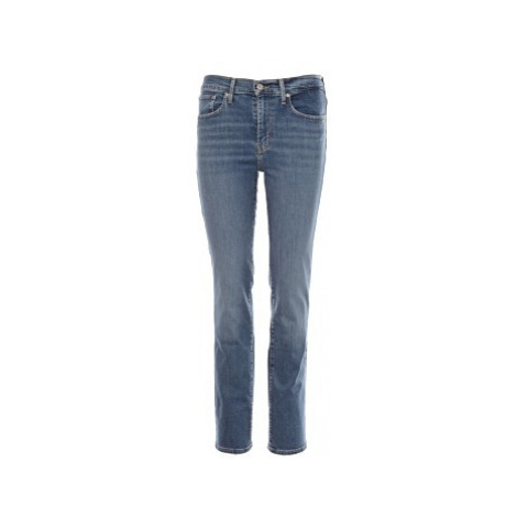 Levi´s® jeans 724 Hight Rise Straight Second Thought dámské modré