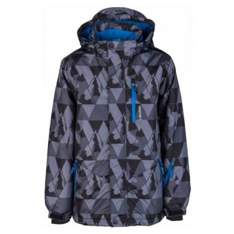Lewro LOGAN šedá - Dětská snowboardová bunda