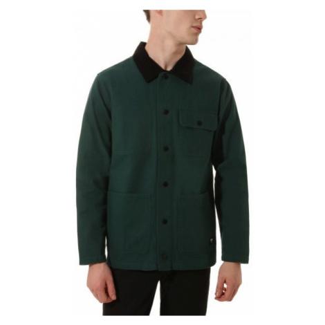 Vans MN DRILL CHORE COAT tmavě zelená - Pánská bunda