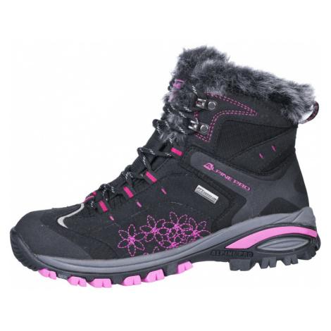 ALPINE PRO BONA Dámská zimní obuv LBTH083990 černá