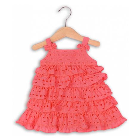 šaty letní a kalhotky, Minoti, LOVELY 7, růžová