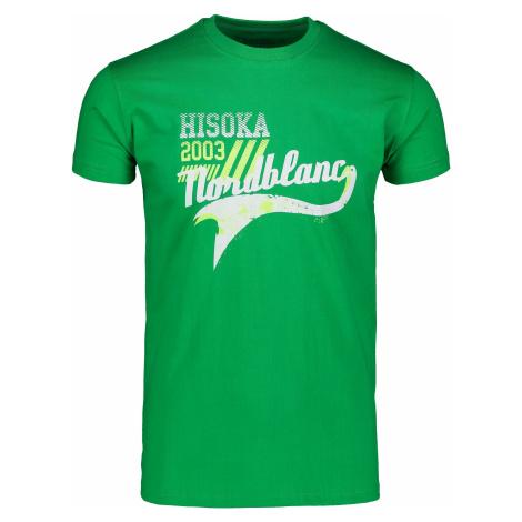 Nordblanc Hisoka pánské bavlněné tričko zelené