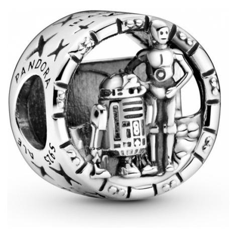 Pandora Stříbrný korálek Star Wars C-3PO a R2-D2 799245C00