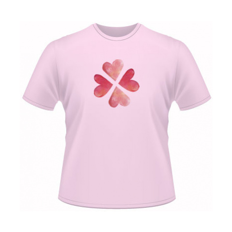 Pánské tričko na tělo srdíčkové štěstí