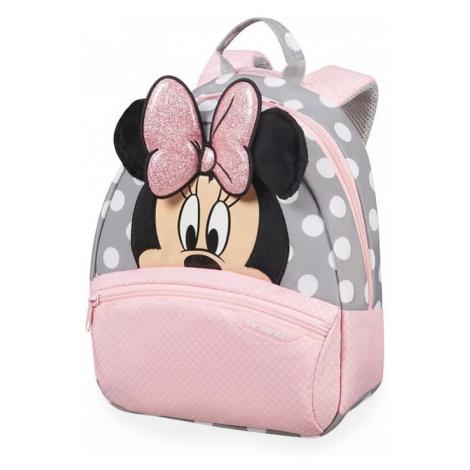 Samsonite Dětský batoh Disney Ultimate 2.0 40C 7 l - růžová