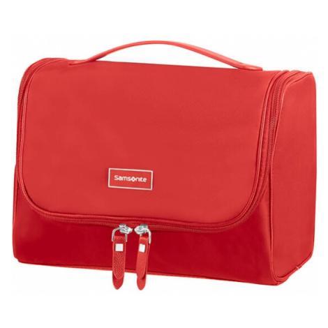 SAMSONITE Kosmetická taška Karissa Cosmetic Formula Red, 27 x 12 x 18 (85250/0507)
