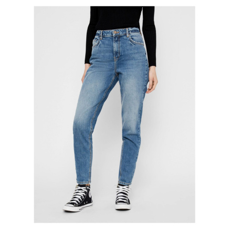 Modré mom fit džíny Pieces Leah