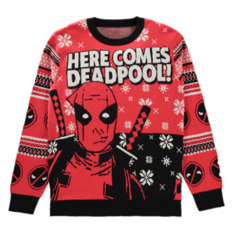 Vánoční svetr Deadpool JRC