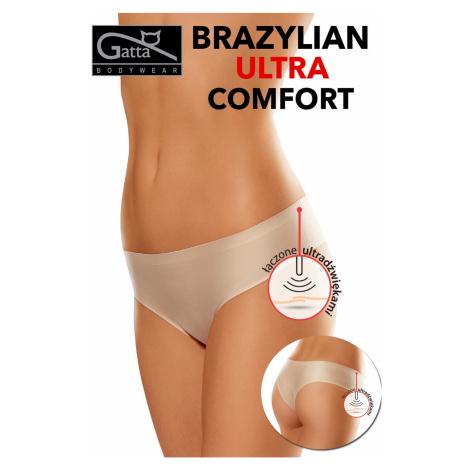 Dámské brazilky 1592s ultra comfort beige Gatta