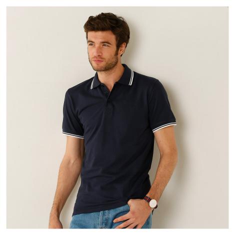 Blancheporte Polo tričko s krátkými rukávy antracitová
