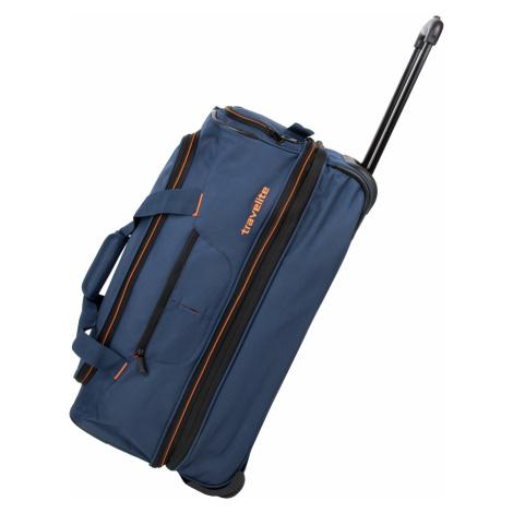Travelite Basics Wheeled duffle S Navy/orange