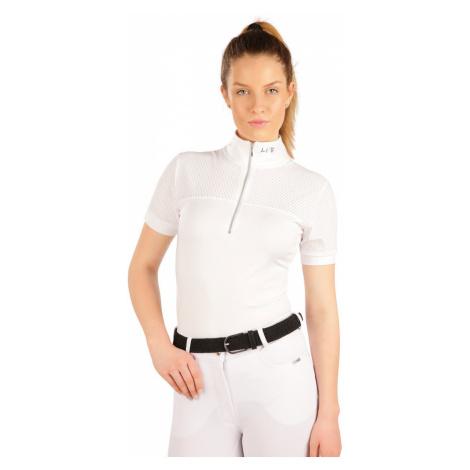 LITEX Triko dámské s krátkým rukávem J1235100 Bílá