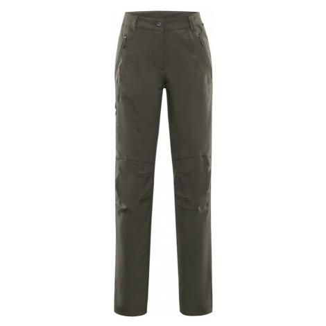 ALPINE PRO MURIA 2 Dámské softshellové kalhoty LPAL132549 Olive night