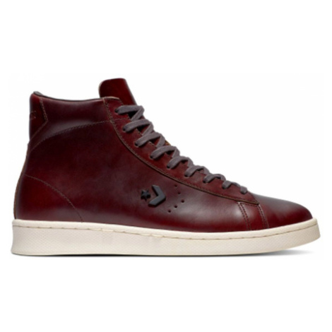 Converse Pro Leather High bordová 168750C