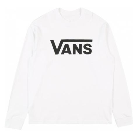 VANS Tričko bílá / černá