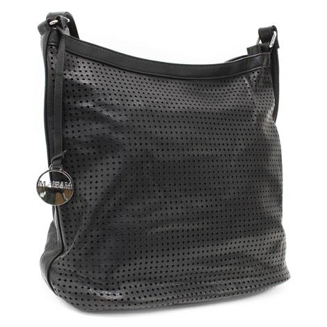 Černá prostorná dámská kabelka Musseta Mahel