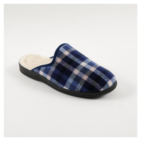 Blancheporte Domácí pantofle Jeva modrá