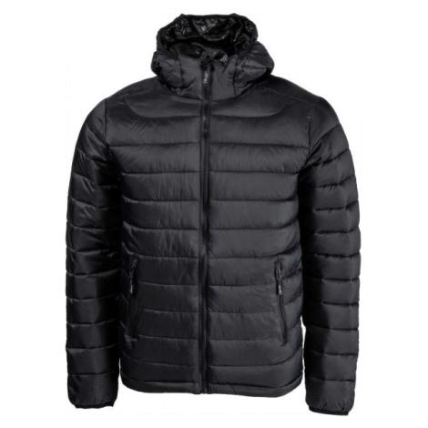 Willard LESS černá - Pánská zateplená bunda