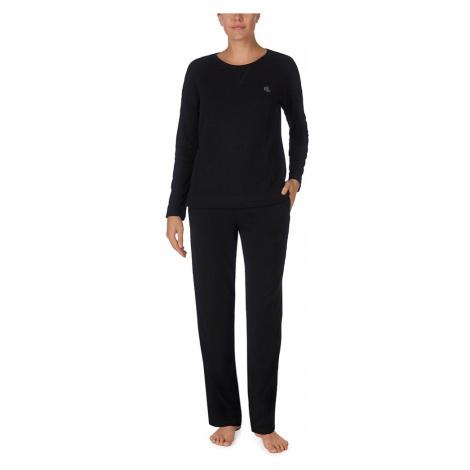Ralph Lauren dámské pyžamo ILN92044 černé - Černá