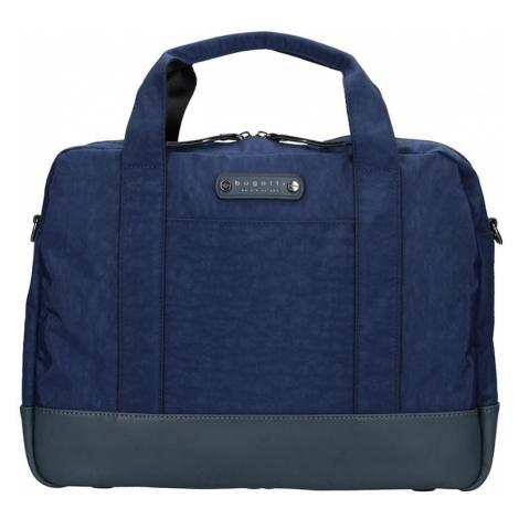 Pánská taška přes rameno Bugatti Bern - modrá  553d46276d3