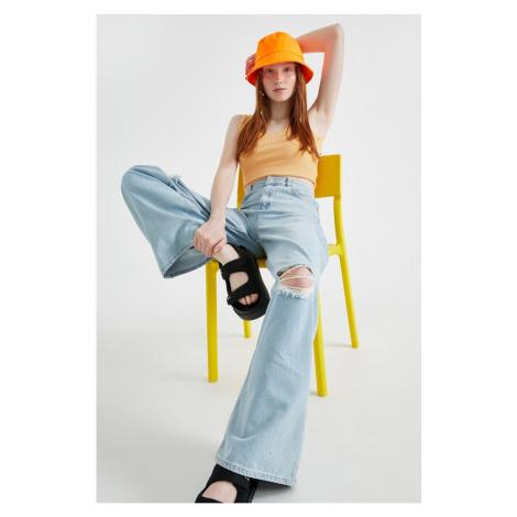 Koton Women's Open Indigo Jeans