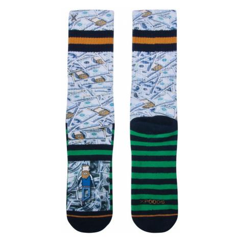 XPOOOS pánské ponožky 60203 - Vícebarevné