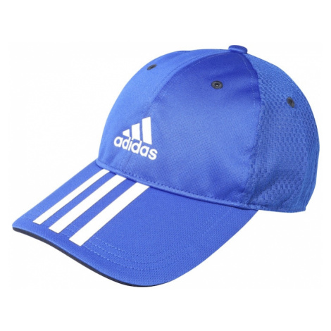 ADIDAS PERFORMANCE Sportovní čepice modrá / bílá