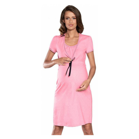 Mateřská noční košile Kalini růžová Italian Fashion