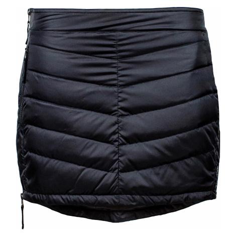 Prošívaná zimní péřová sukně SKHOOP Down Mini, černá