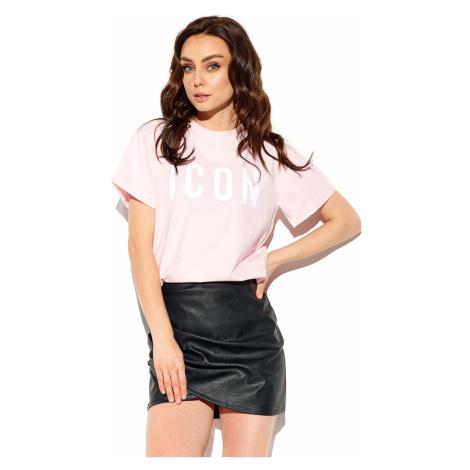 Dámské světle růžové tričko s krátkým rukávem LG532 Lemoniade