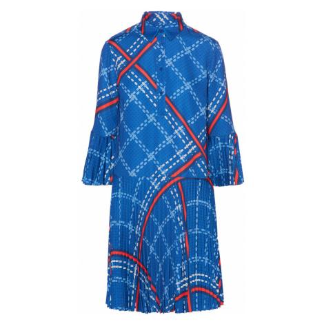 ŠATY GANT D1. SIGNATURE WEAVE PLISSE DRESS