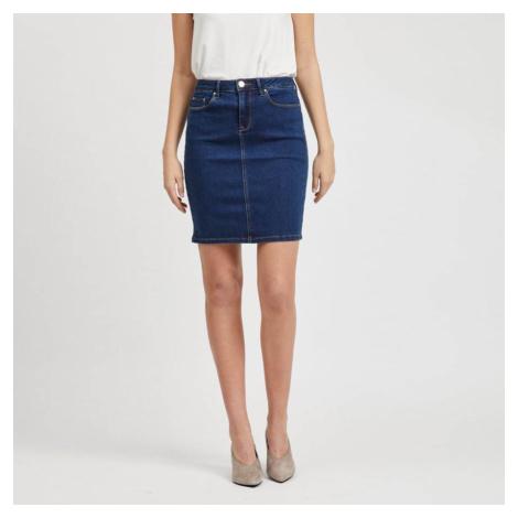 Modrá džínová sukně Vicommit Felicia Vila
