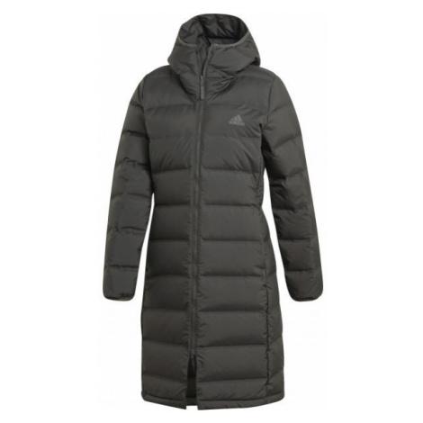 adidas W HELIONIC PARKA černá - Dámský kabát